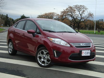 TEST DRIVE: Ford Fiesta Kinetic Design 4 puertas