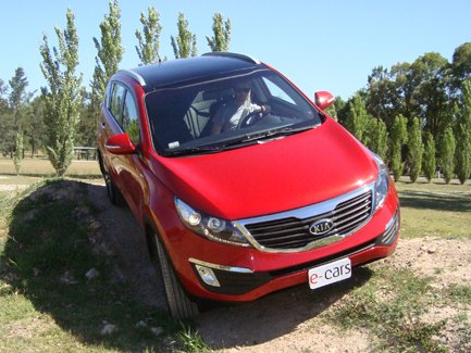 TEST DRIVE: Kia Sportage AWD 6 AT