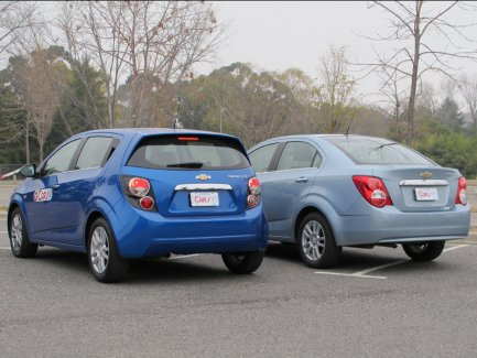 TEST DRIVE: Chevrolet Sonic Sedán MT/Hatch AT