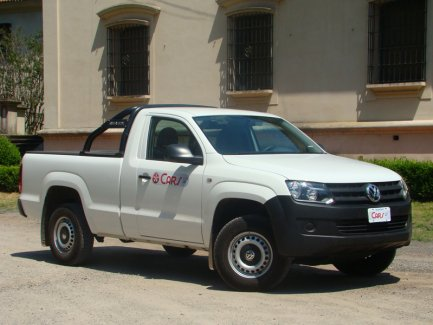 TEST: VW Amarok Starline 4x4 Cabina Simple
