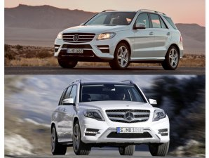 Nuevos Mercedes-Benz ML y GLK