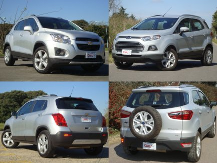 Ford Ecosport Vs Chevrolet Tracker Eternas Rivales Cars