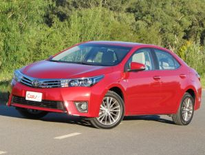 Toyota Corolla SE-G AT video de la prueba