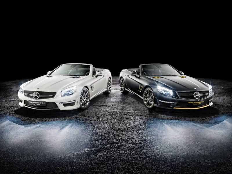 MB SL63 AMG World Championship 2014 Collector´s