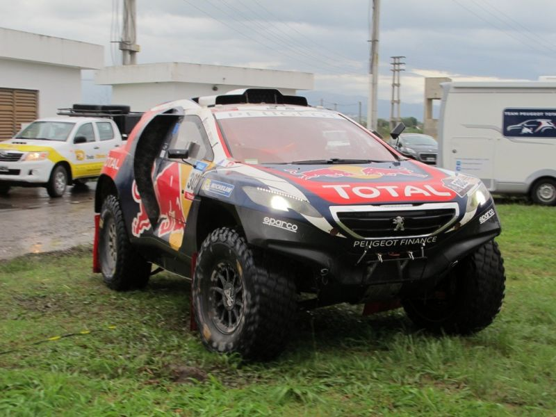 Peugeot Total Team en el Dakar 2015