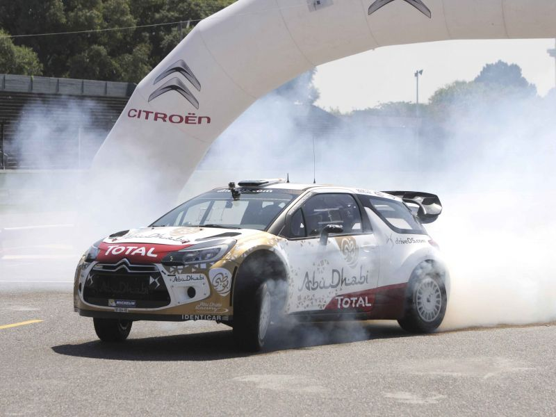 Citroën Racing Co-Driving Experience