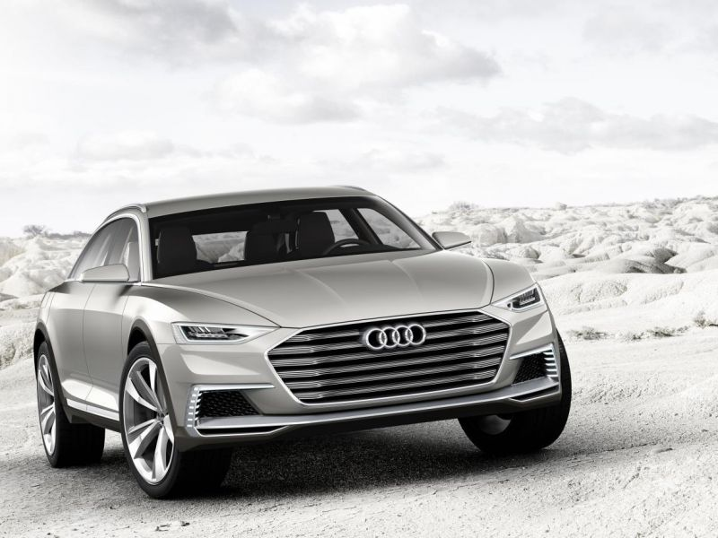 Audi Prologue Allroad: Shangai 2015