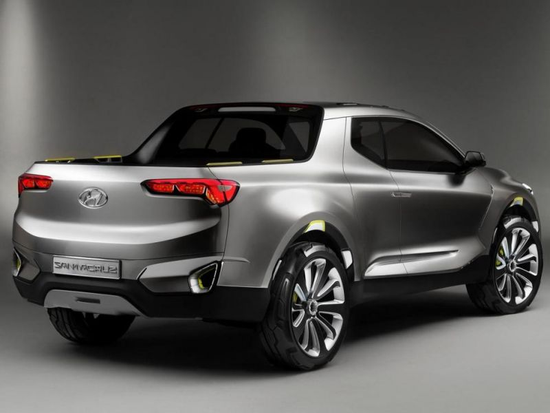 Hyundai Santa Cruz pick-up