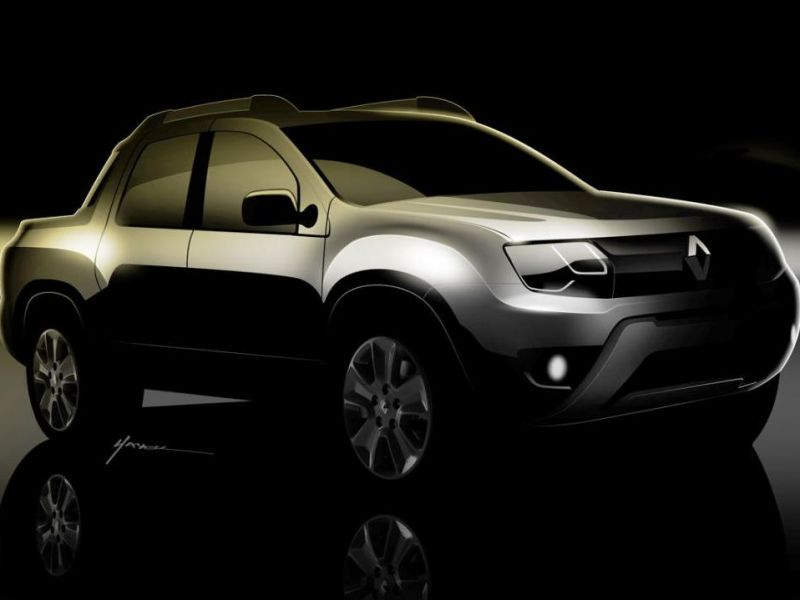 Renault Oroch pick up: anticipo Salón de BA