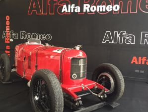 Alfa Romeo P2: exhibici�n en Bs. As.