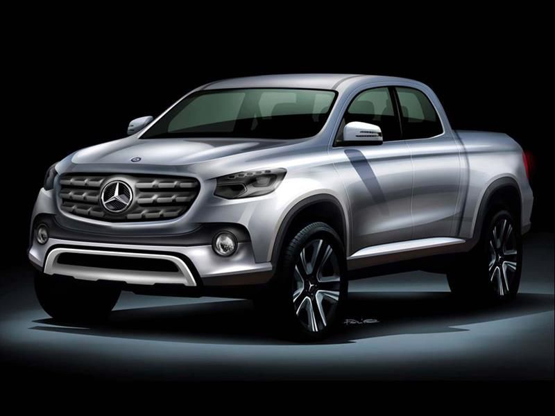 Mercedes-Benz pick up: producción nacional