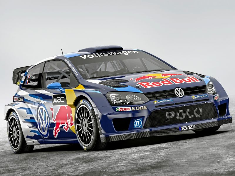 VW Polo WRC: video Mikkelsen y Svindal