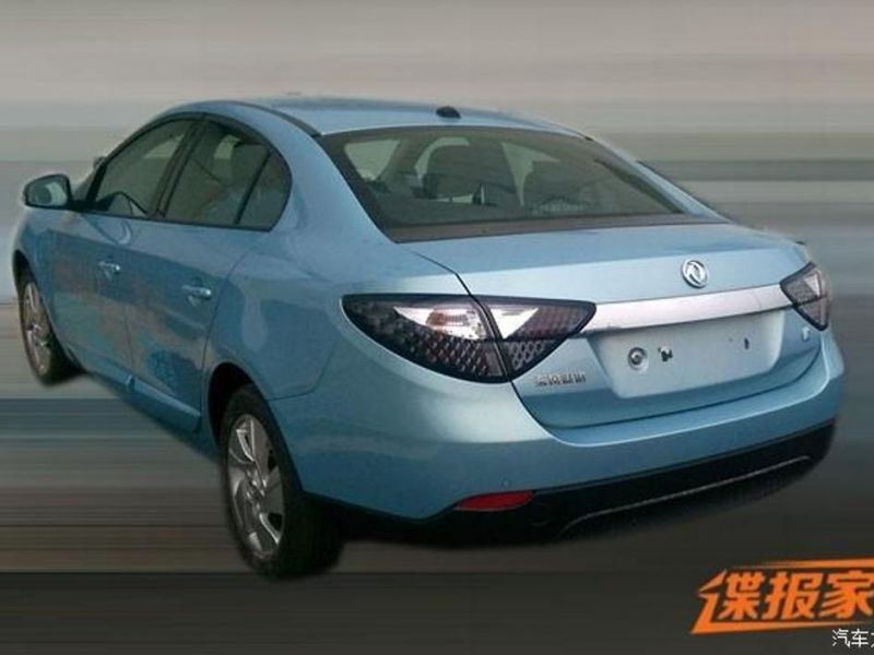Renault Fluence ZE para China