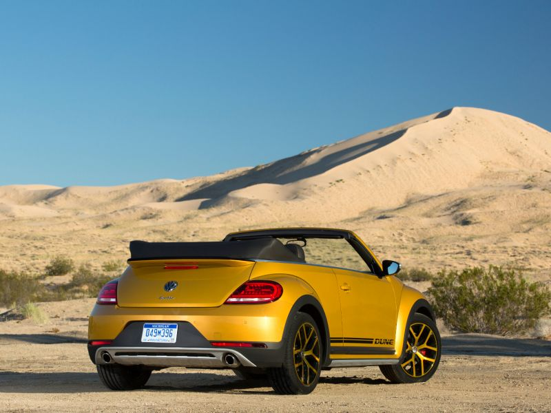 VW Beetle: ediciones Denim y Dune