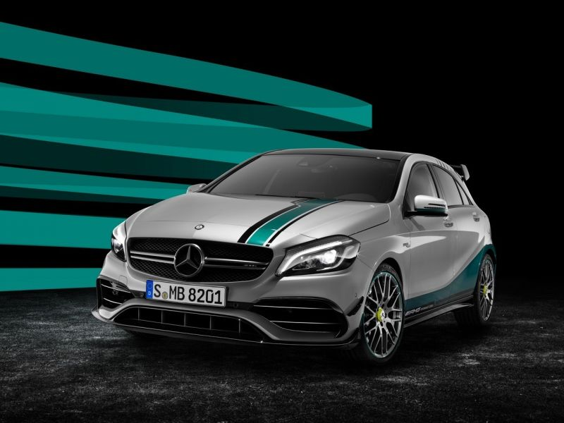 Mercedes-Benz A45 AMG World Champion Edition