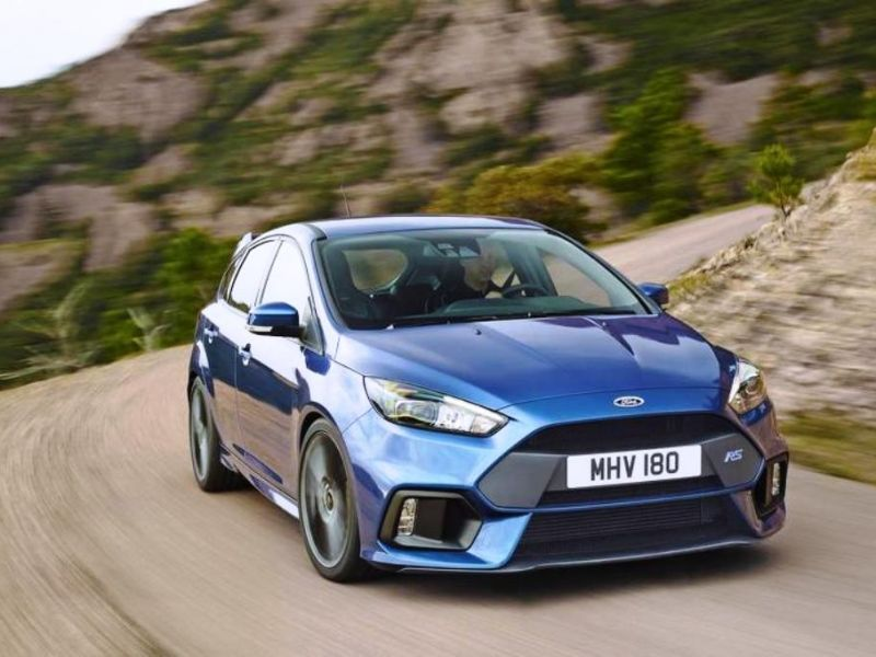 Ford Focus RS 2016: a producción