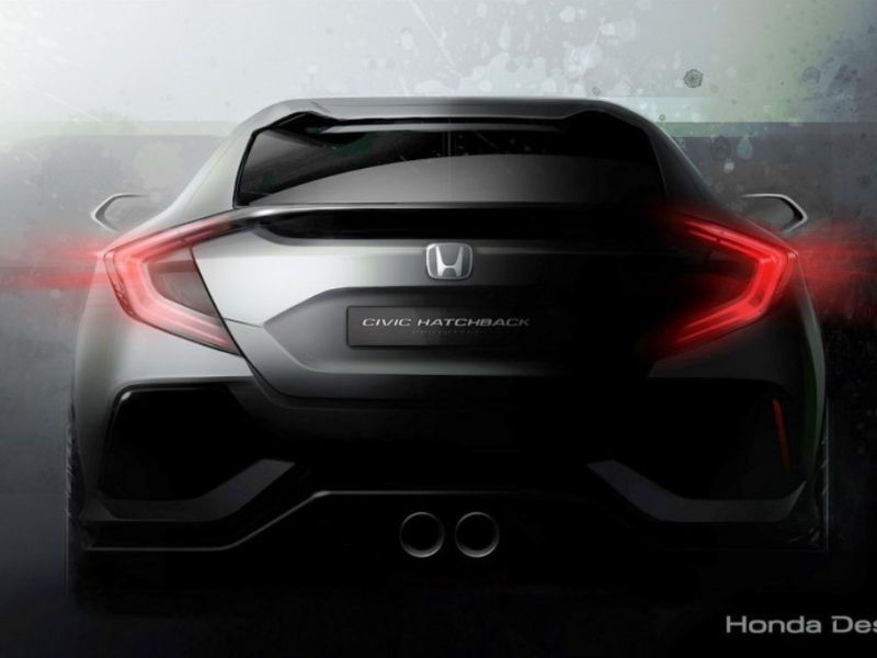 Honda Civic hatchback: anticipo