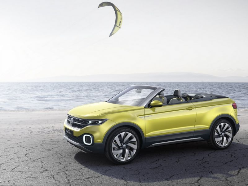 VW T-Cross Breeze Concept: Salón de Ginebra