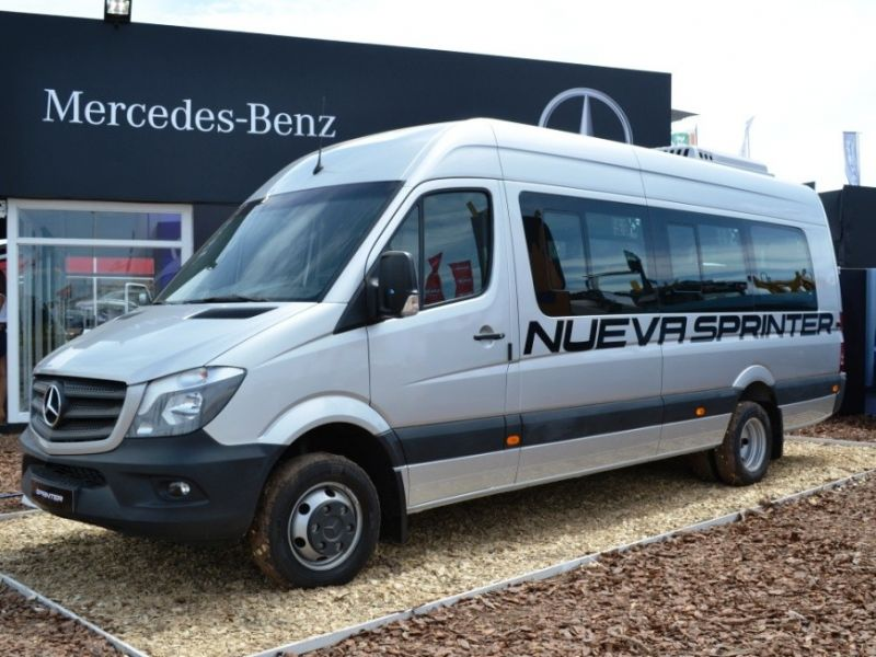 Mercedes benz present la sprinter 2016 cars for Sprinter mercedes benz 2016