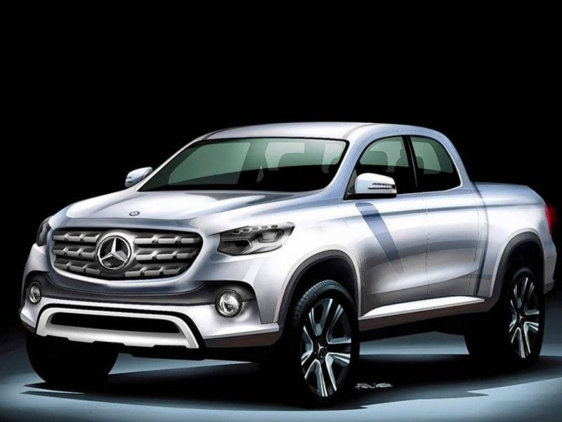 Mercedes-Benz pick up: anticipo
