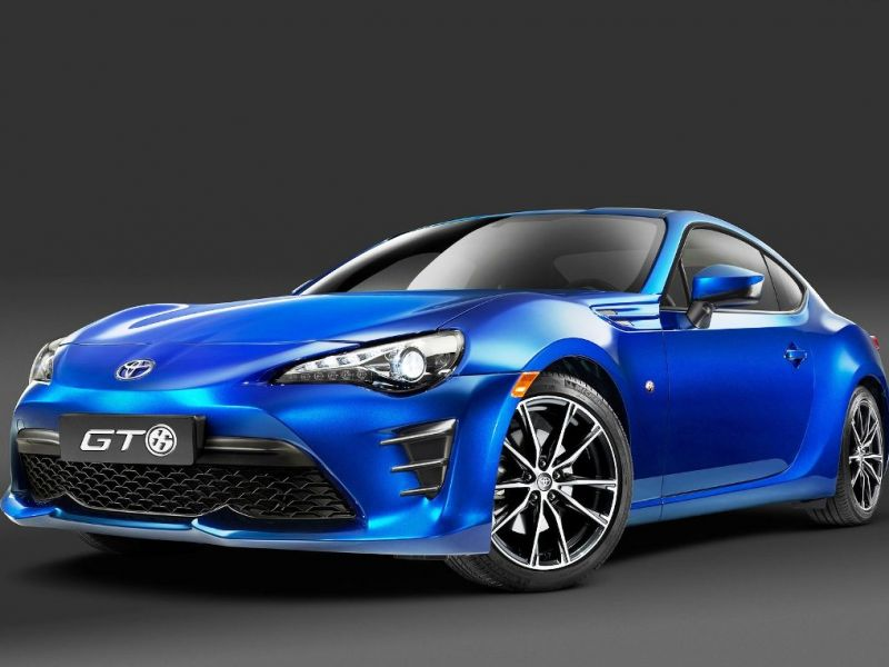 Toyota 86: restyling