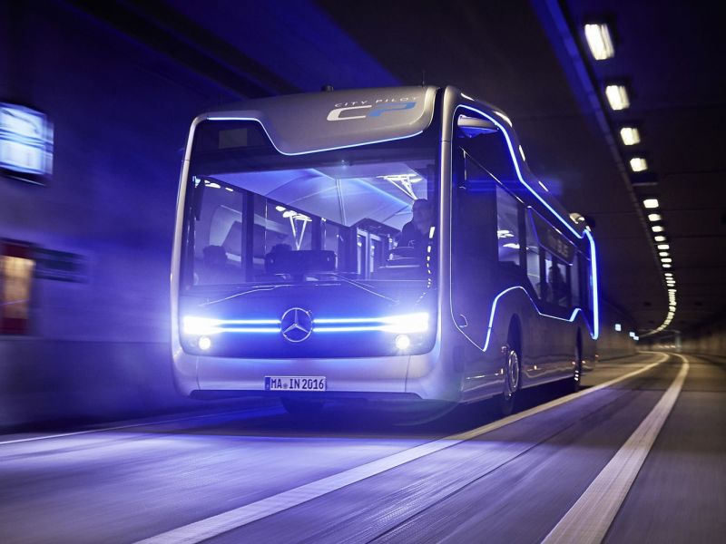 Mercedes-Benz Future: bus aut�nomo
