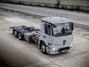Mercedes-Benz: Urban eTruck