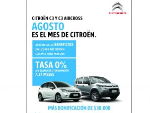 Financiaci�n y bonificaciones de Citro�n