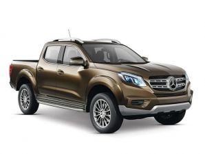 Mercedes-Benz pick up concept: anticipo
