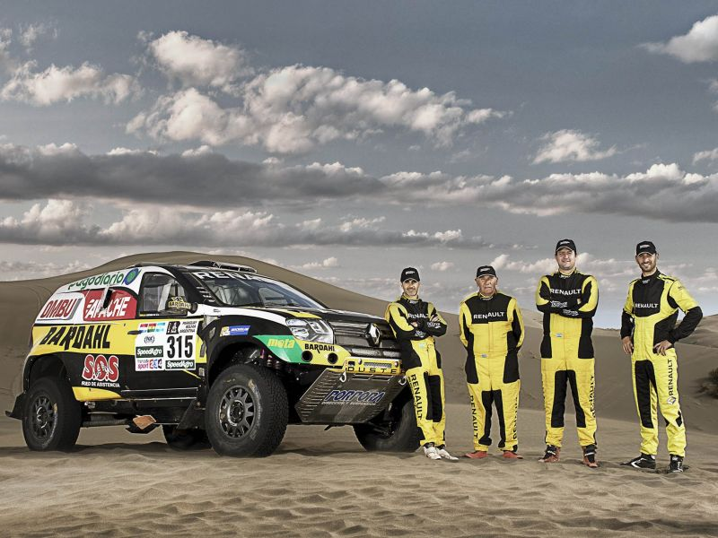 Duster Dakar Team: edición 2017