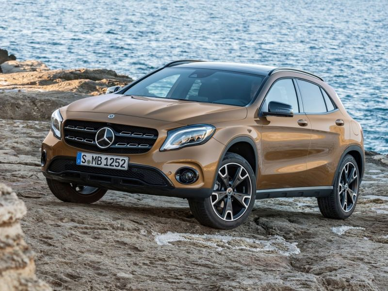 Mercedes-Benz GLA: restyling