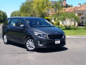 Kia Carnival: video test